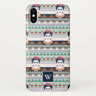 Funda Para iPhone X Azteca de Frida Kahlo el |