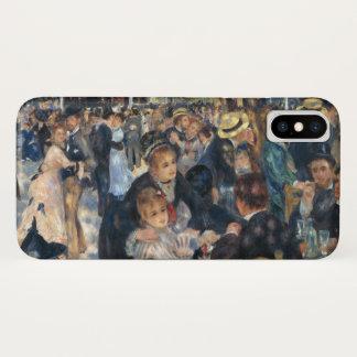 Funda Para iPhone X Baile en el la Galette de Le Moulin de por Renoir