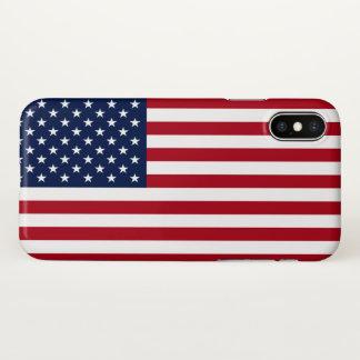 Funda Para iPhone X Bandera americana