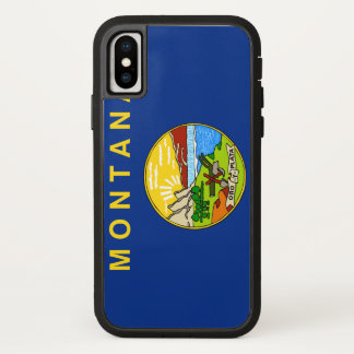 Funda Para iPhone X Bandera de Montana