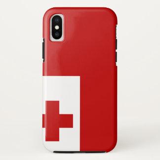 Funda Para iPhone X Bandera de Tonga