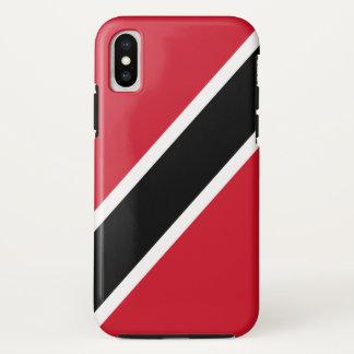 Funda Para iPhone X Bandera de Trinidad and Tobago