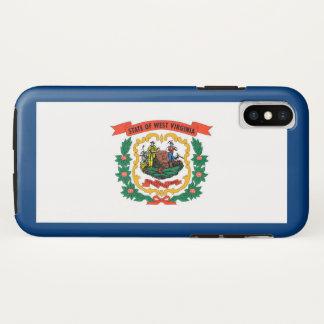 Funda Para iPhone X Bandera del estado de Virginia Occidental