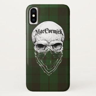 Funda Para iPhone X Bandido del tartán de MacCormick