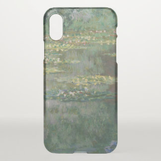 Funda Para iPhone X Bella arte GalleryHD de la charca del lirio de