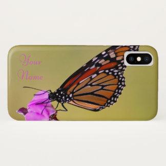 Funda Para iPhone X Besos de la mariposa