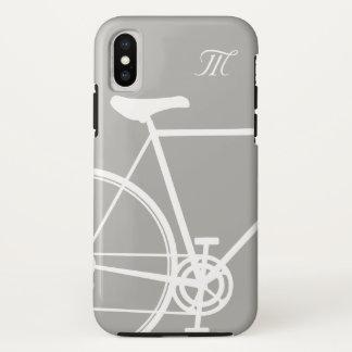 Funda Para iPhone X Bici abstracta gris