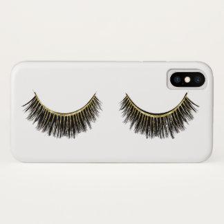 Funda Para iPhone X Blanco elegante del artista de maquillaje de los