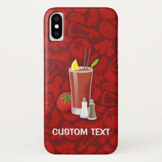 Funda Para iPhone X Bloody mary