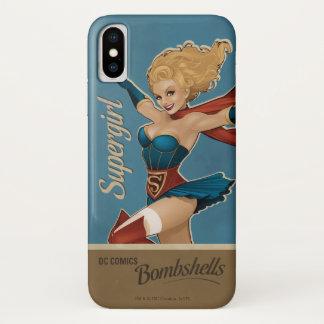 Funda Para iPhone X Bomba de Supergirl