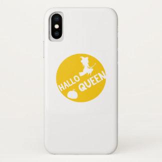 Funda Para iPhone X Bruja Halloween divertido 2017 de HalloQueen
