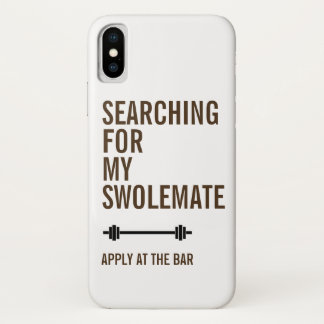 Funda Para iPhone X Búsqueda para mi aptitud del gimnasio de SwoleMate