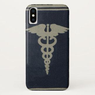 Funda Para iPhone X Caduceo azul