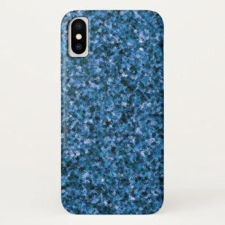Funda Para iPhone X Caja azul del iPhone X del camuflaje