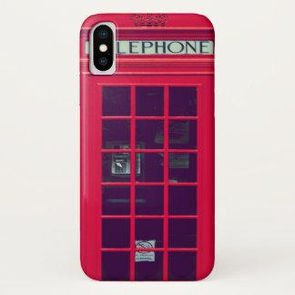 Funda Para iPhone X Caja británica original del teléfono