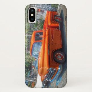 FUNDA PARA iPhone X CAJA DE LA CAMIONETA PICKUP IPHONE DE CHEVY HOTROD