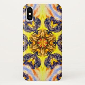 Funda Para iPhone X Caja de la estrella del demonio del marmotreto