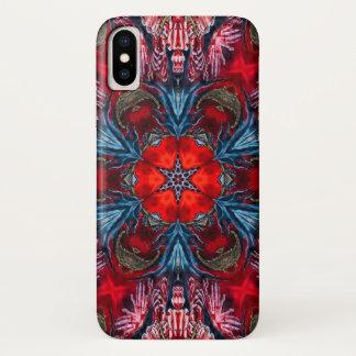 Funda Para iPhone X Caja de la mandala de la estrella del demonio del