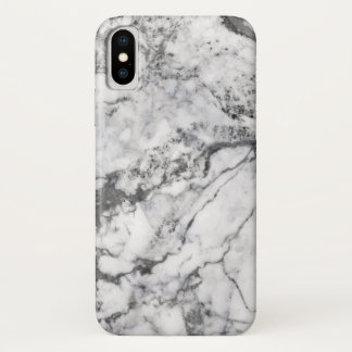 Funda Para iPhone X Caja de mármol gris de Iphone