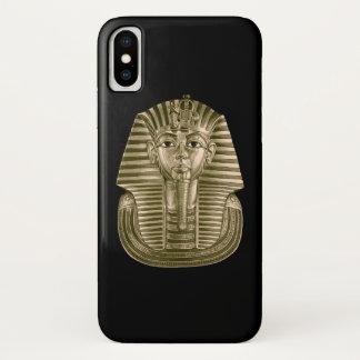 Funda Para iPhone X Caja de oro del iPhone X de rey Tut