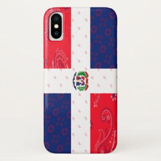 Funda Para iPhone X Caja del teléfono de la bandera de la República