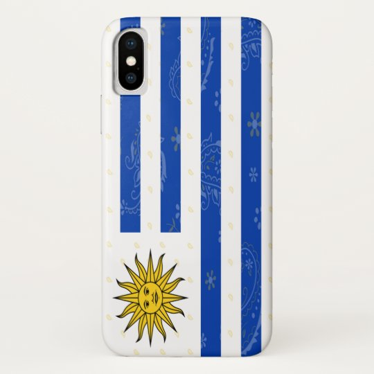 carcasa bandera uruguay iphone 5s