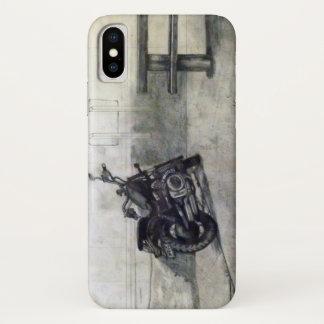 Funda Para iPhone X Caja del teléfono de la motocicleta