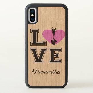 Funda Para iPhone X Caja del teléfono del iphonex de la animadora