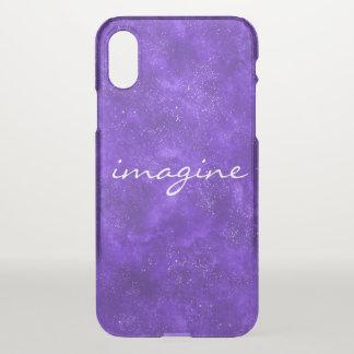Funda Para iPhone X Caja ultravioleta inspirada del teléfono del