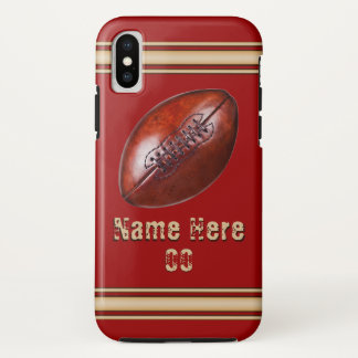 Funda Para iPhone X Cajas personalizadas del iPhone del fútbol en sus