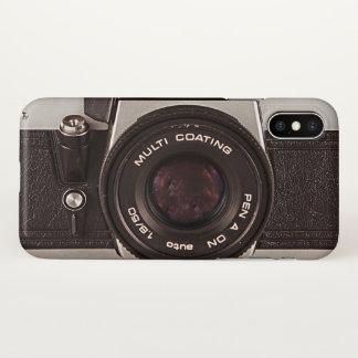 Funda Para iPhone X cámara de los años 80