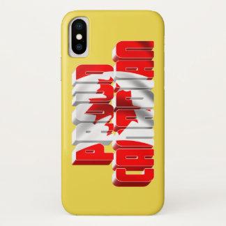 Funda Para iPhone X Canadiense orgulloso