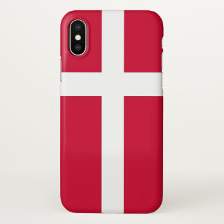 Funda Para iPhone X Caso brillante del iPhone con la bandera de