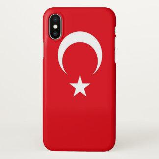 Funda Para iPhone X Caso brillante del iPhone con la bandera de