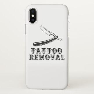 Funda Para iPhone X Caso de Iph X del retiro del tatuaje
