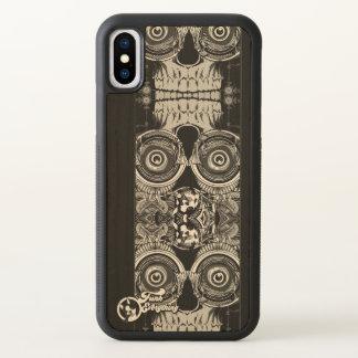 Funda Para iPhone X Caso de madera del iPhone del tótem