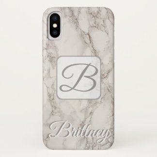 Funda Para iPhone X Caso de mármol de encargo de Iphone x
