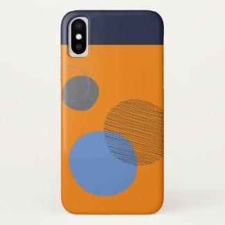Funda Para iPhone X Caso de Smartphone en círculo asimétrico
