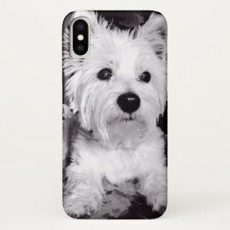 Funda Para iPhone X caso de Terrier blanco de montaña del oeste del
