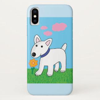 Funda Para iPhone X Caso del iPhone X de Barely There de la flor de