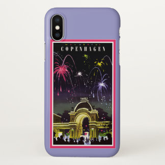 Funda Para iPhone X Caso del iPhone X de Copenhague