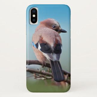 Funda Para iPhone X Caso del iPhone X de Jay del eurasiático