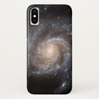 Funda Para iPhone X Caso del iPhone X de la galaxia espiral (M101)