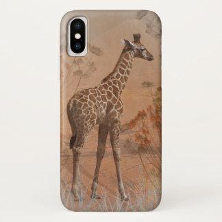Funda Para iPhone X Caso del iPhone X de la sabana