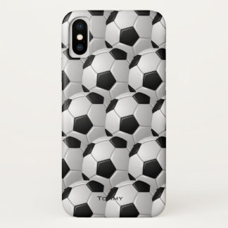 Funda Para iPhone X Caso del iPhone X del diseño de los balones de