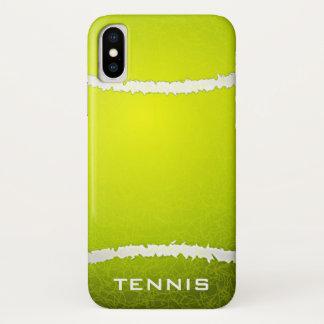 Funda Para iPhone X Caso del iPhone X del diseño del tenis