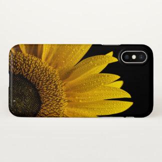 Funda Para iPhone X caso del iPhone X del girasol