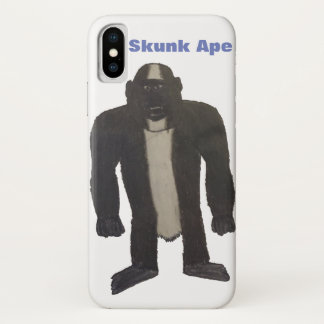 Funda Para iPhone X Caso del mono de la mofeta