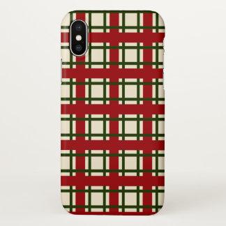 Funda Para iPhone X Caso elegante del iPhone X del modelo del navidad
