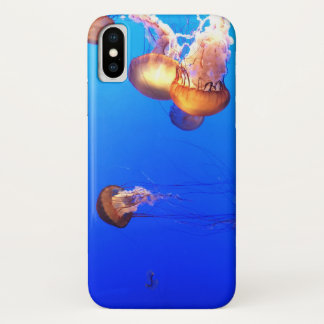 Funda Para iPhone X Caso fresco del iPhone de las medusas